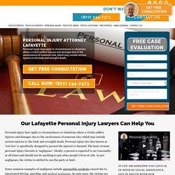 Personal Injury Lawyer Lafayette LA