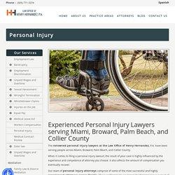 Personal Injury Lawyers Miami