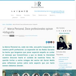 Marca Personal, Doce profesionales opinan