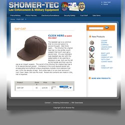 Personal Protection - SHOMER-TEC