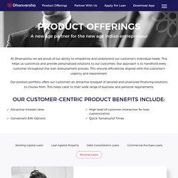 Get Personal Loan Online - Dhanvarsha Finvest Limited (DFLTD)