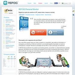 Personal Monitor - Registre as ações de usuários no PC, capture telas e toques no teclado