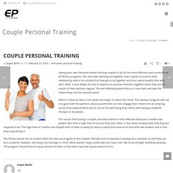Couple Personal Fitness Training Gastown & Vancouver
