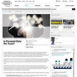 In Personal Data We Trust?