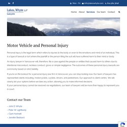 injury lawyers in Vancouver BC