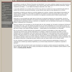 6.3.- Entornos personales de aprendizaje: Symbaloo