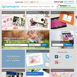 Optimalprint.com - Your online printing service