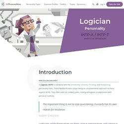 "INTP Personality (""The Logician"")"