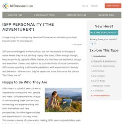 ISFP personality