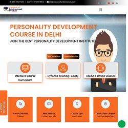 Personality Development Course in Delhi