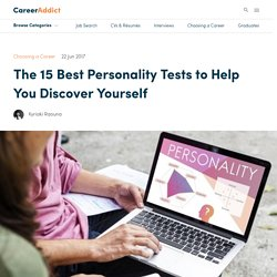 The 15 Best Personality Tests to Help You Discover Yourself