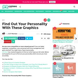 Find Out Your Personality With These Graphics - CGfrog