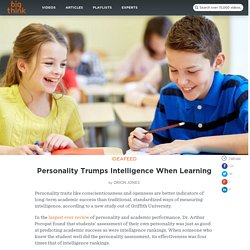 Personality Trumps Intelligence When Learning