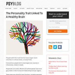 The Personality Trait Linked To A Healthy Brain