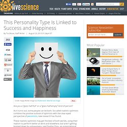 This Personality Type Is Linked to Success and Happiness