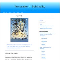 Growth « Personality & Spirituality
