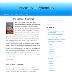 The Michael Teachings « Personality & Spirituality