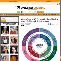 What's Your MBTI Personality Type? Enrich Your Life Through Self-Discovery.