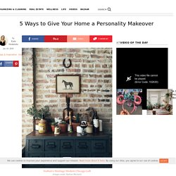 How to Add Personality to Your Home Design
