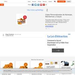 Cajas Personalizadas de Naranjas, Mandarinas y Caquis