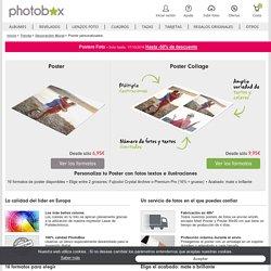 POSTER FOTO: crea online un póster personalizado con tus fotos preferidas - PhotoBox
