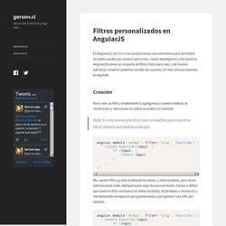 Filtros personalizados en AngularJS - gerson.cl