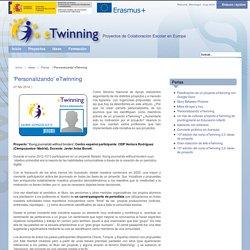 'Personalizando' eTwinning