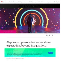 AI powered personalization - above expectation, beyond imagination