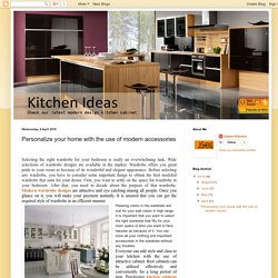 Small Kitchen Cabinet Modern wardrobe Design and Kitchen Cabinets Plywood: Personalize your home with the use of modern accessories