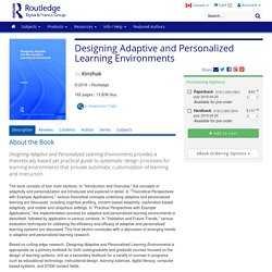 Designing Adaptive and Personalized Learning Environments (Paperback)