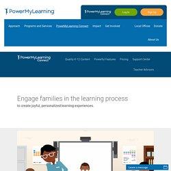 PowerMyLearning Connect