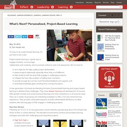 What's Next? Personalized, Project-Based Learning
