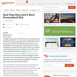 Real-Time Data And A More Personalized Web - Smashing Magazine