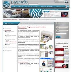 Programma per personalizzare e creare tabelle di comunicazione