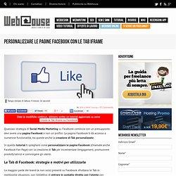 Come creare tab personalizzate per le pagine Facebook