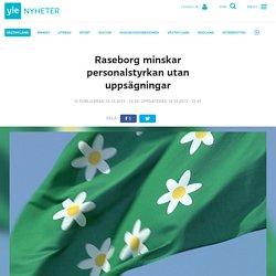 Raseborg minskar personalstyrkan utan uppsägningar