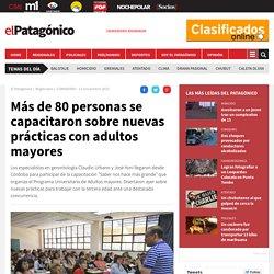 Más de 80 personas se capacitaron sobre nuevas prácticas con adultos mayores