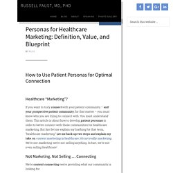 Patient Personas for Healthcare Marketing