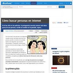 Cómo investigar a una persona en Internet