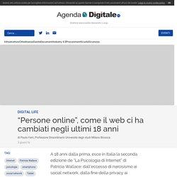 """""""Persone online"""", come il web ci ha cambiati negli ultimi 18 anni"""