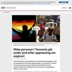 Hbtq-personer i Tanzania går under jord efter uppmaning om angiveri