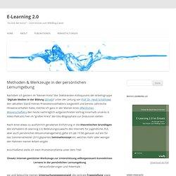 Methoden & Werkzeuge in der persönlichen Lernumgebung