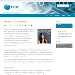 Persönlichkeitstest - 123test.de