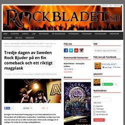 ROCKBLADET.SE - Sveriges Personligaste Rockmagasin