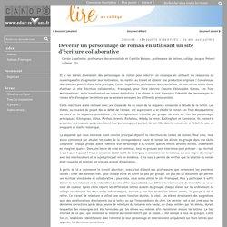 Séquence - écriture collaborative - FRAMAPAD