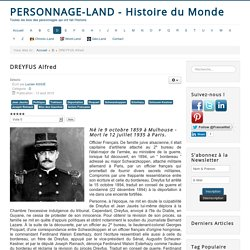 Personnage-Land - Histoire du Monde - DREYFUS Alfred