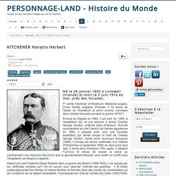 Personnage-Land - Histoire du Monde - KITCHENER Horatio Herbert
