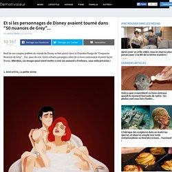 """Et si les personnages de Disney avaient tourné dans """"50 nuances de Grey""""..."""