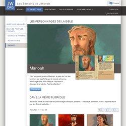 Les personnages de la Bible: fiches à collectionner
