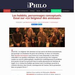 Les hobbits, personnages conceptuels. Essai sur «Le Seigneur des anneaux»